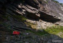 七星山-崖壁上的行走