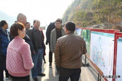 湖南省政府重点工程项目建设考核组来我公司检查指导工作